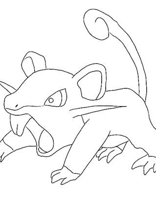 pokemon 7a coloring page