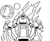 power rangers 3a coloring page