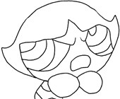 power puff girls coloring page coloring page