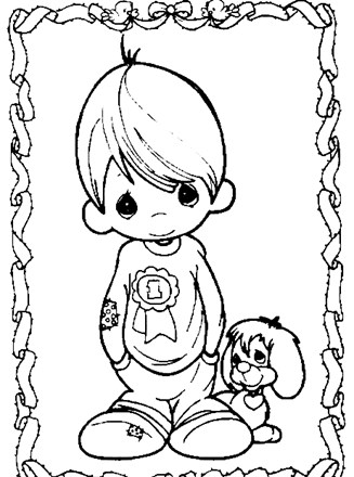 Kids Christian Coloring Pages | Sunday School Coloring Sheets ... | 440x327