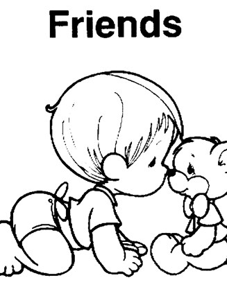 Precious Moments Animal Coloring Pages - GetColoringPages.com | 440x327
