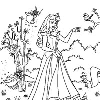 coloring princess 1 coloring page