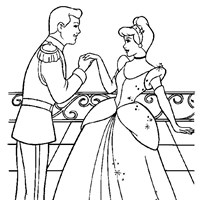 coloring princess cinderella 2 coloring page
