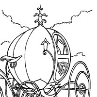 coloring princess cinderella 4 coloring page