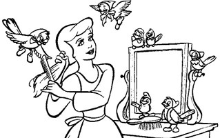 princess coloring pages print princess pictures to color all kids network - Coloring Pages Of Princess
