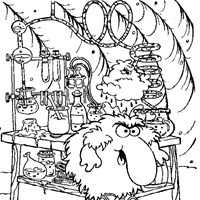 rainbow brite lab coloring page