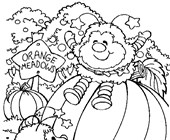 rainbow brite orange meadows coloring page
