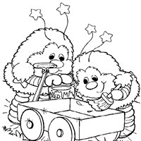 rainbow brite page coloring page