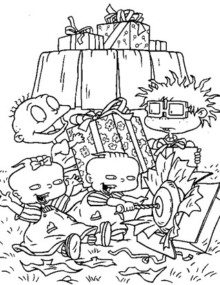 Rugrats Coloring Pages - Print Rugrats Pictures to Color | All Kids ...
