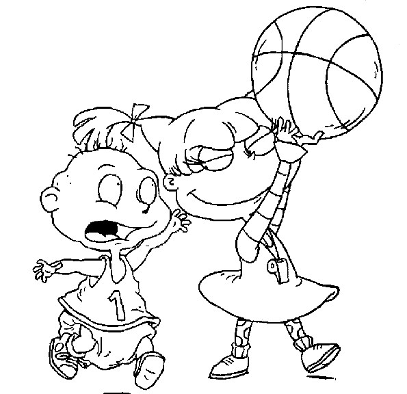 Rugrats Coloring Page - rugrats tommy | All Kids Network