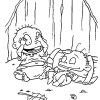 tommy coloring page