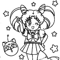 chibisua coloring page