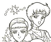 sailor moon 4a coloring page