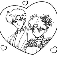 sailormoon  coloring page
