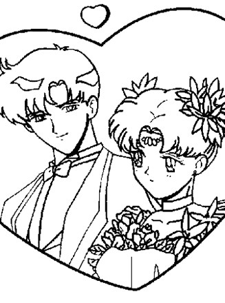Sailor moon going to school coloring pages - Hellokids.com | 440x327