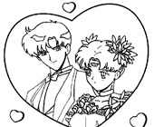 sailormoon 7a coloring page