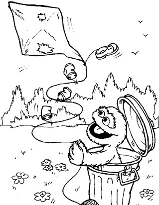 Sesame Street Coloring Pages   All Kids Network