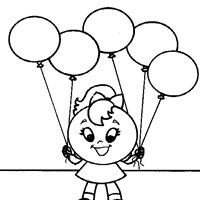 shapes circle coloring page