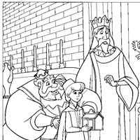 prince phillip coloring page