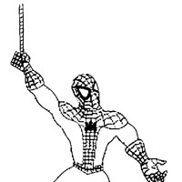 spiderman coloring pages coloring page