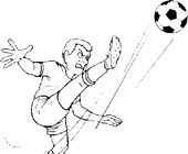 soccer coloring page coloring page
