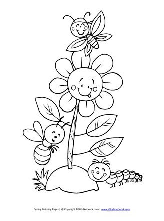 850 Top Spring Bugs Coloring Pages For Free