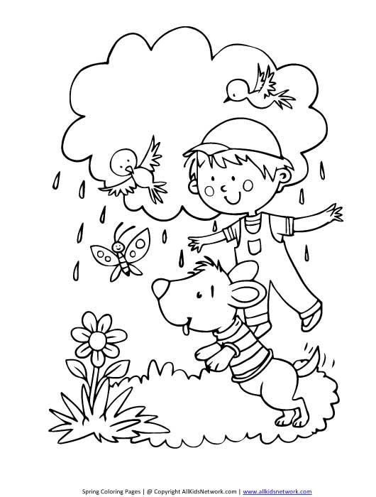 Spring Coloring Pages  PrimaryGamescom