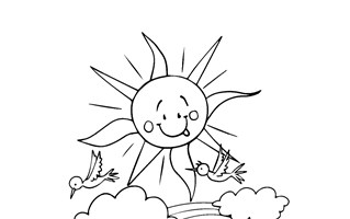 spring coloring pages print spring pictures to color all kids network - Spring Coloring Page