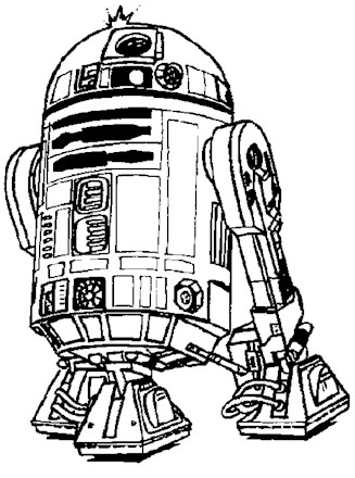 Star Wars Coloring Page Star Wars R2d2 All Kids Network