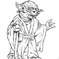 star wars yoda coloring page