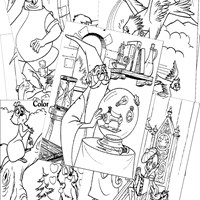 Sword in the Stone Coloring Pages