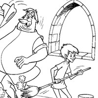 arthur sir ector coloring page