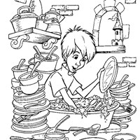 sword in the stone arthur coloring page