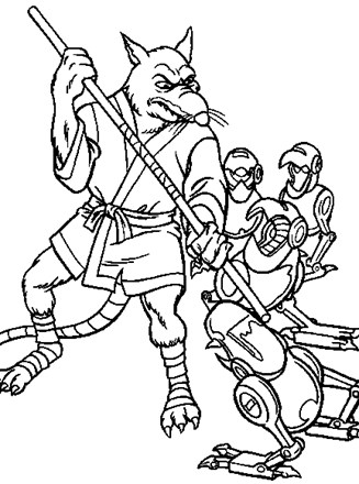 Teenage Mutant Ninja Turtles Coloring Pages - Best Coloring Pages ... | 440x327