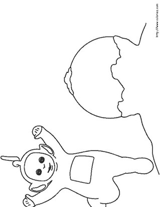 Teletubbies Coloring Pages | All Kids Network