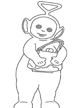 Teletubbies coloring pages on Coloring-Book.info | 440x327