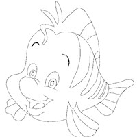 little mermaid2a coloring page