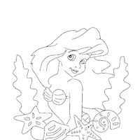 little mermaid8a coloring page