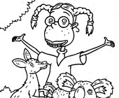 thornberrys animals coloring page