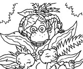 thornberrys bears coloring page