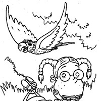 thornberrys bird coloring page