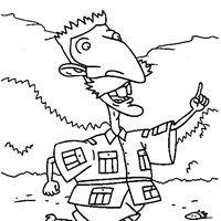 thornberrys guide coloring page