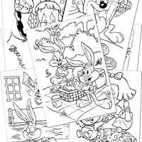 Tiny Toons Coloring Pages