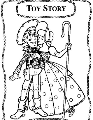Toy Story Coloring Pages - Print Toy Story Pictures to Color | All ...