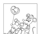 you and me coloring page