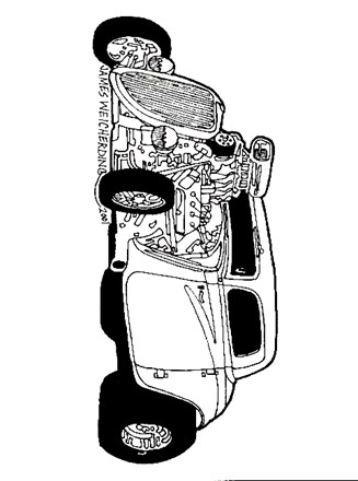 Vehicles Coloring Page Hot Rod Car All Kids Network