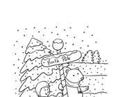 Winter Coloring Pages - Print Winter Pictures to Color  All Kids