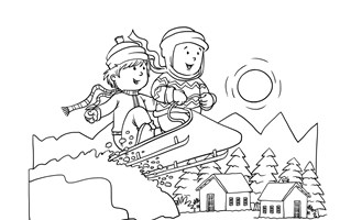Winter Coloring Pages - Print Winter Pictures to Color | All Kids ...