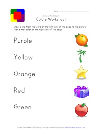 image about Printable Colors identify Printable Colours Worksheet - Matching Shades All Small children Community