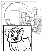 all kids network coloring pages - photo#36